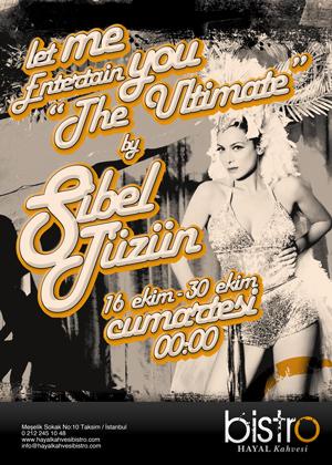 "Let Me Entertain You ""The Ultimate"" by Sibel Tüzün"