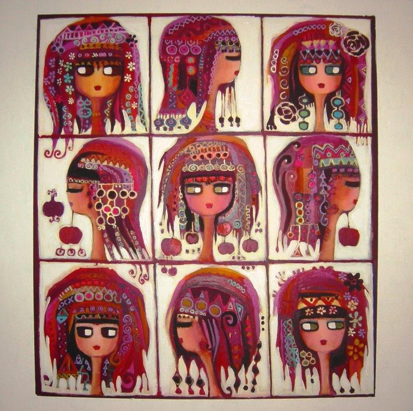 Canan Berber Hitit Kadınları, Narları ve Mehlevileri