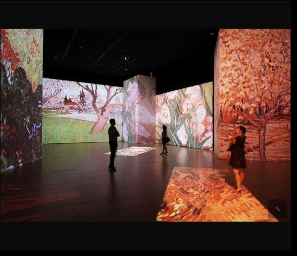 Van Gogh Alive Dijital Sanat Sergisi