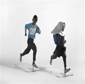 Yi Hwan-Kwon, Ali & Zahra , 2010 - 115,9x86,06x35,89 cm