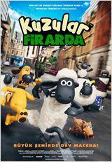 Shaun The Sheep Movie, Kuzular Firarda // Stop-motion canımız fakat azıcık da bir senaryo olaydı... Annemle izledik, bayıldı filme. Ben daha ziyade uyukladım.