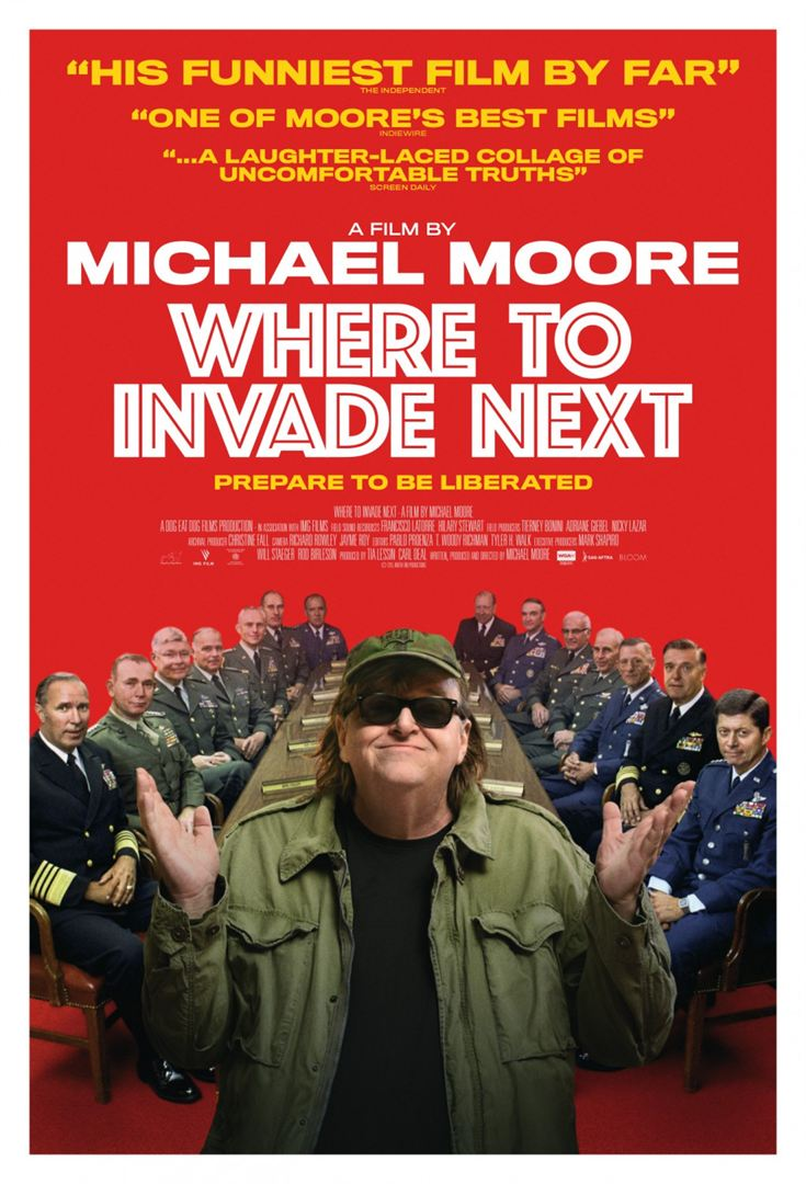Where to Invade Next?, Şimdi Nereyi İşgal Edelim? //